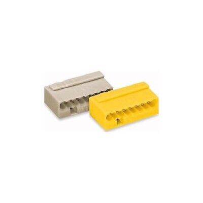 Wago 243-308 Micro-Dosenklemme 8x0,6-0,8 lichtgrau 50 Stück