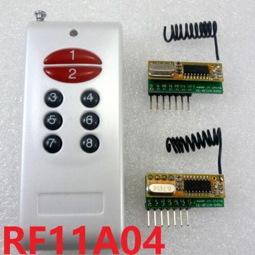 433MHz 8 Channel Super-het RF Wireless Link Kit Decode DC 3V 3.3V 3.7V 5V Kit