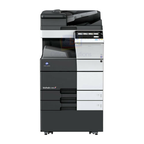 Konica Minolta Bizhub C458 A3 Color Laser Copier Printer Scanner Mfp 45 Ppm C368