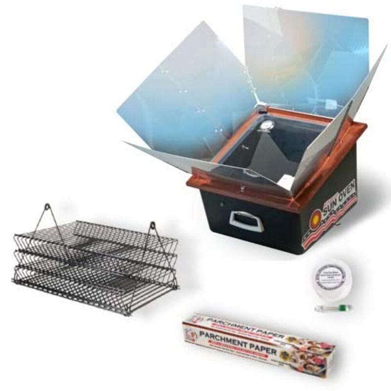 Sun Oven Solar Energy Sun Oven with Dehydrating Accessory Pack (Used)