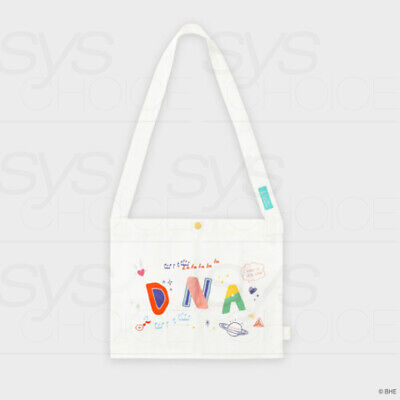 BTS DNA Official Authentic Basic Cross Eco Bag 360 x 200mm + Tracking Number