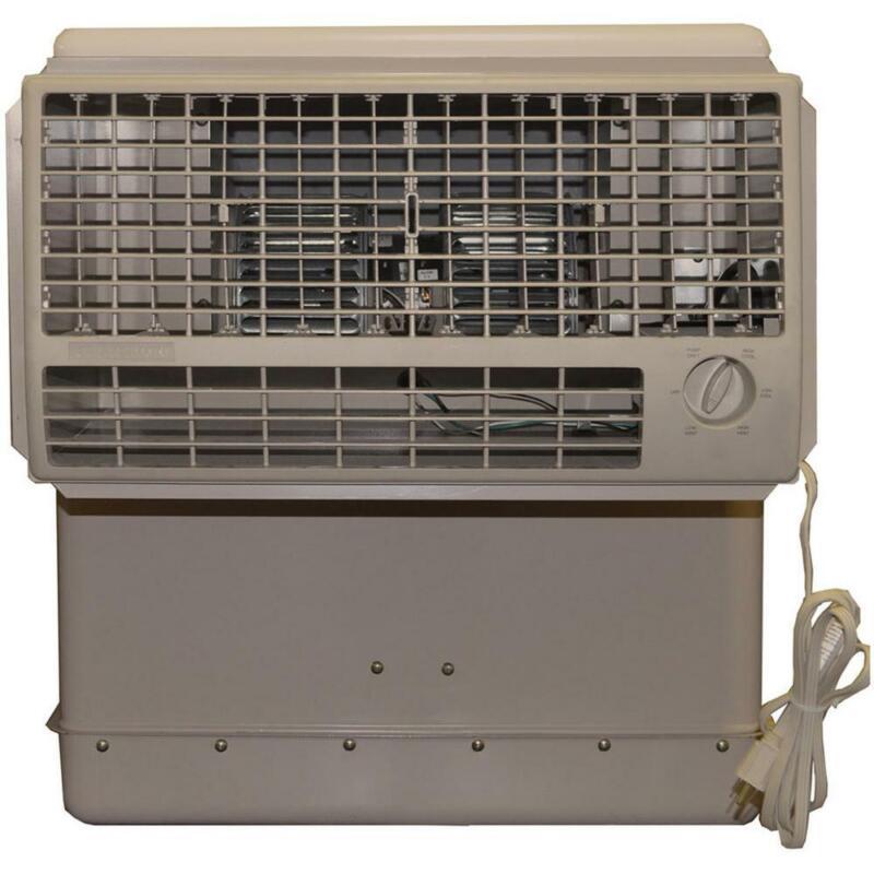 Champion Cooler Window Evaporative Cooler 2800-CFM 2-Speed (with Motor)