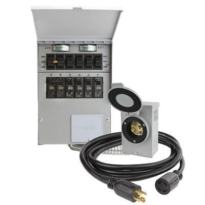 Reliance Controls 7500-watt Non-fuse 6-circuit Transfer Switch Kit 3006hdk