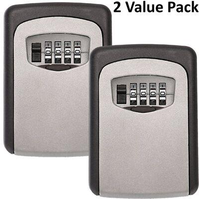 Realtor Wall Mount Key Lock Box With 4-digit Combination