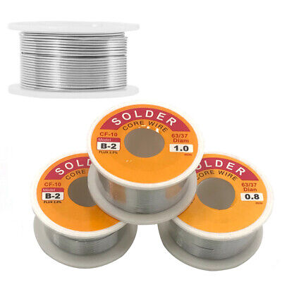 Rosin Core Soldering Wire 1.0mm50g For Radio Tv Vcrs Wires Motors Circuit Board