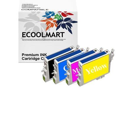 4pack T125120 ink set fits  WorkForce 323 WorkForce 325 Printer BEST