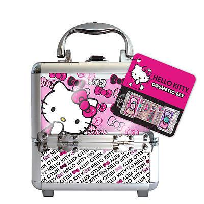 Hello Kitty Train Cosmetic Case