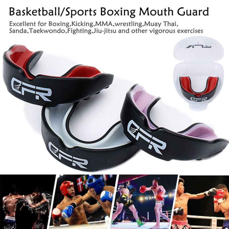 Reusable Mouth Guard Elastic Sports Mouth Teeth And lip Prot