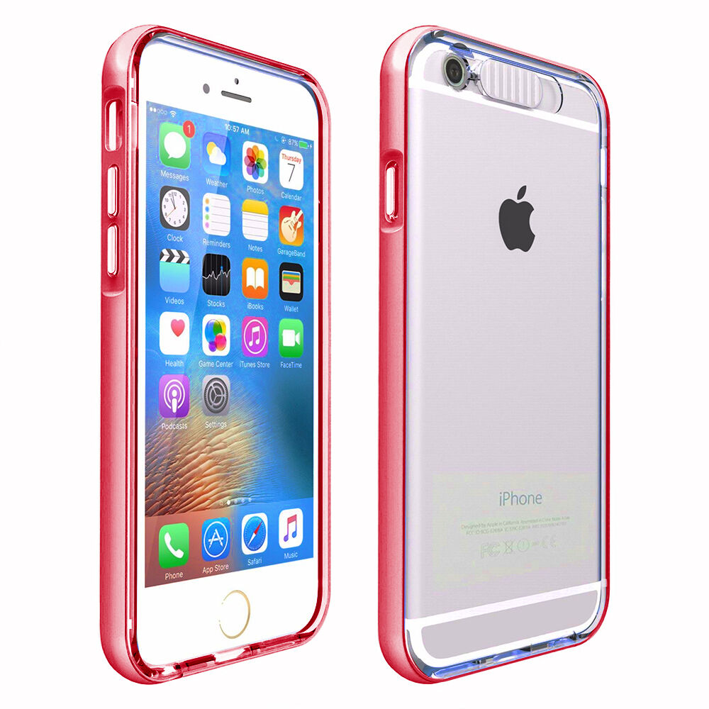 Shockproof Rugged Hybrid Rubber Hard Cover Case for iPhone 6s 7  8 Plus 5s SE