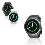 Samsung Gear S2 SM-R730T 4G Smartwatch T-Mobile with Small or Large Rubber Band