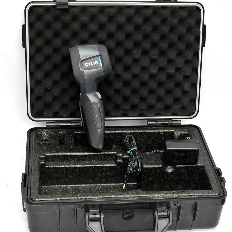 FLIR i3 Handheld Ruggedized IR Infrared Camera with Case, Memory Card, Pwr Sup.