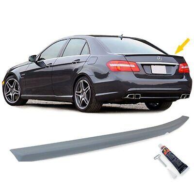 Heckspoiler Spoilerlippe E63 Sport Optik für Mercedes E Klasse W212 Limousine