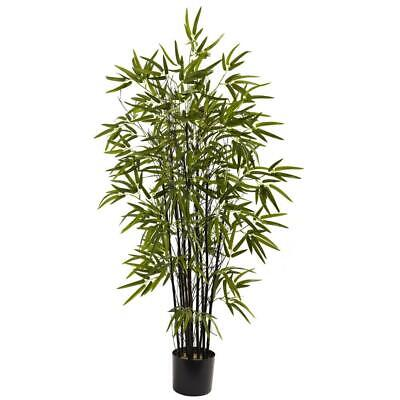 4 ft. black bamboo tree | artificial nearly natural silk 4-foot tall tropical Tropical Black Bamboo