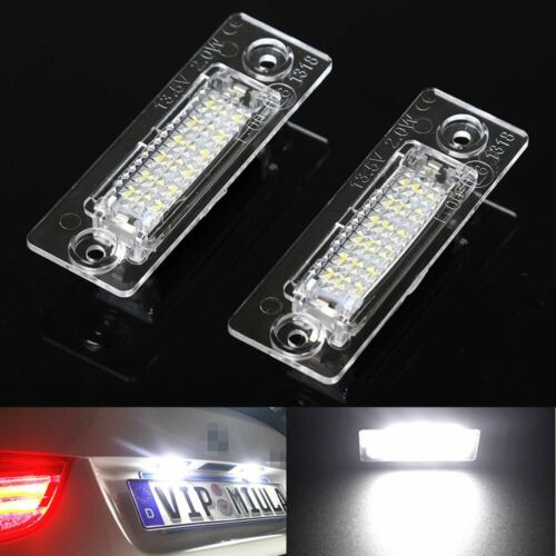Car Parts - 2x 18 LED License Number Plate Light For VW Touran Golf Passat Jetta Caddy T5