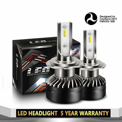 LED Headlight Kit H7 6000K 12000LM Low Beam Bulbs for MAZDA RX-8 2004-2011 (Best Electric Bike Kit 2019)