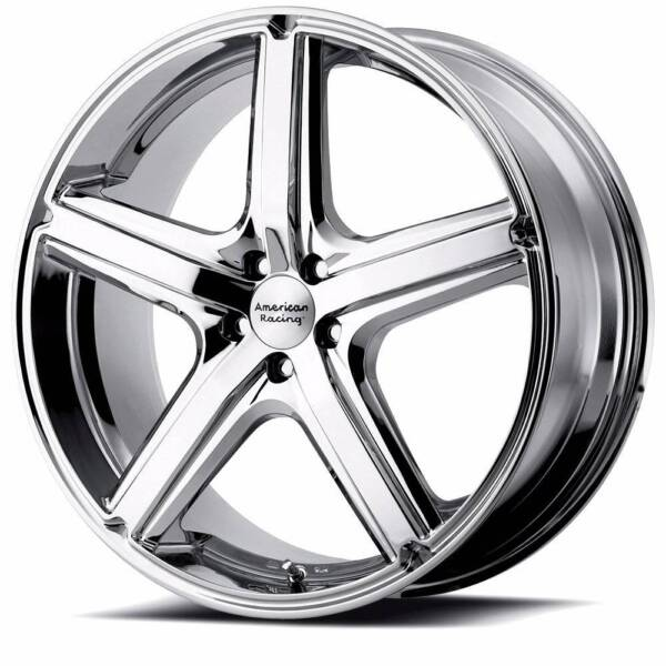 18 american racing ar883 chrome wheels volvo xc60 evoque wheels Best Tires for Volvo 1 of 1