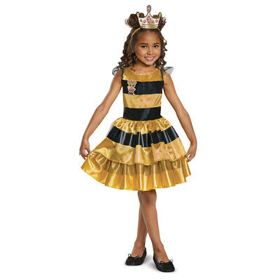 Girls LOL Surprise Queen Bee Halloween Costume](Bee Costumes For Girls)