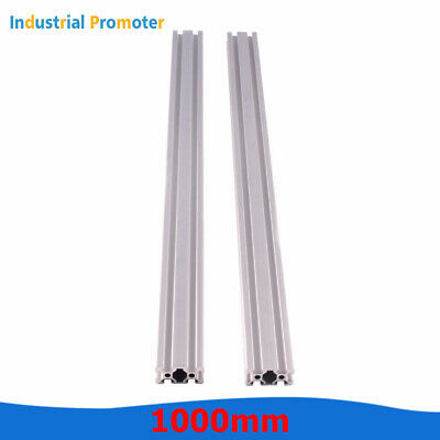 2pcs 1000mm 1m 2040 T-slot Aluminum Extrusion Profile 20mm X 40mm Cnc 3d Printer