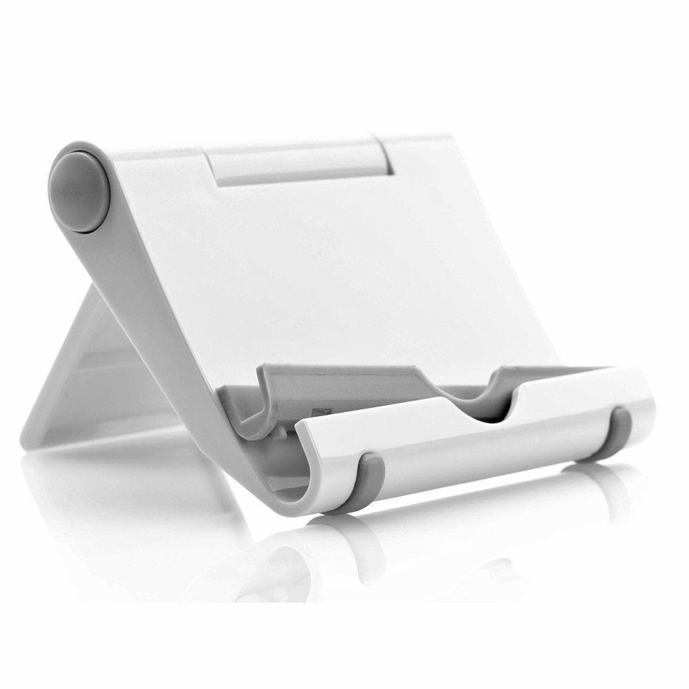 Universal Winkel verstellbar Halterung Tablet PC Smartphones Handy Tisch Ständer