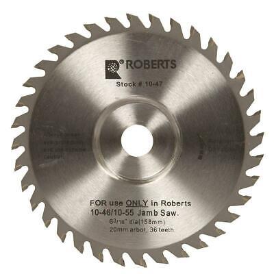 Roberts 6-316 In. Door Jam Replacement Blade Fits 10-55 10-46 Jamb Undercut Saw