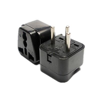 110V-220V USA to Israel Travel Adapter Power Socket Plug Converter Convertor 1pc