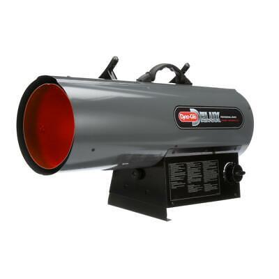 120k-150k btu forced air propane portable heater   automatic shutoff delux gas - Forced Air Gas Heaters