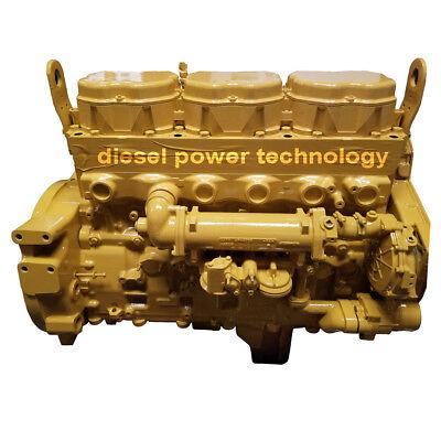 Caterpillar 3176c Remanufactured Diesel Engine Extended Long Block