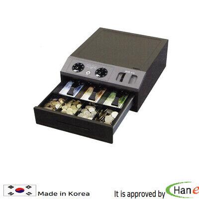 Korea Lock Boxes Safe Security Box Vault Cash Drawer Jewelry Valuables Steel