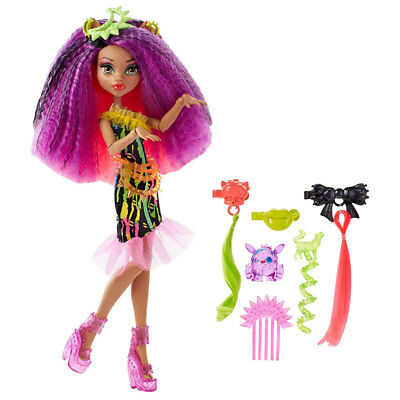 Monster High Monstrous Hair Ghouls Doll Electrified Clawdeen Wolf