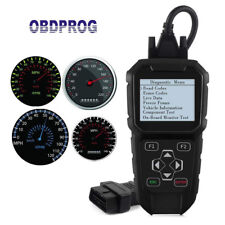 OBDII Mileage Correction Odometer Adjustment Diagnostic Scan Tool OBDPROG MT401