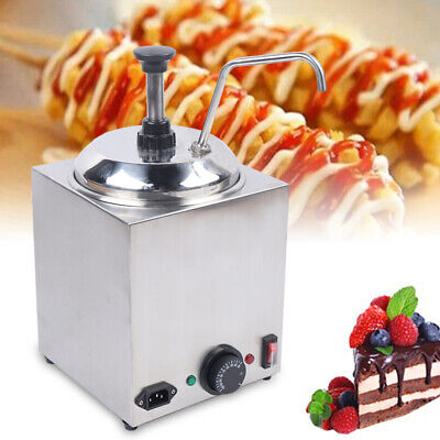 Nacho Cheese Chips Butter Sauce Dispenser 2.5l Large Capacity Warming Tank 650w
