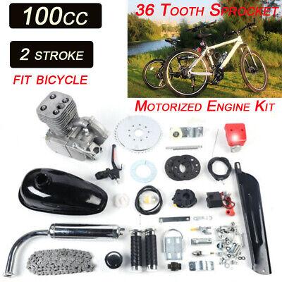 100CC 2-Takt Gasmotor Motor Benzin E-Bike Motor Engine Motorisiertes Benzin