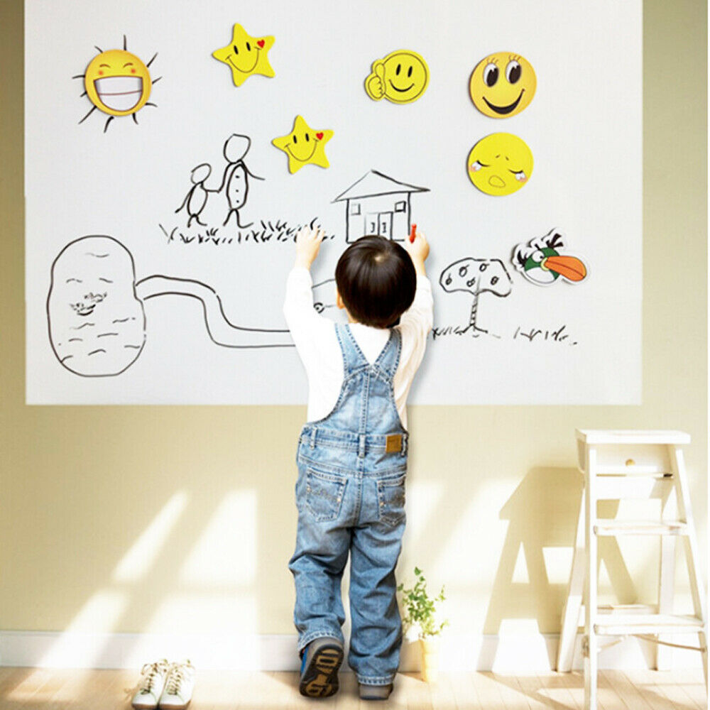 Details About Self Adhesive Whiteboard Wall Decal Sticker Dry Erase Wallpaper 23 62 W 39 37 L