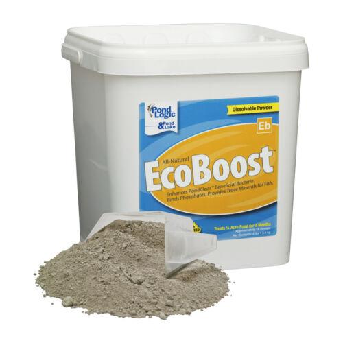 Pond Logic 570101 All Natural EcoBoost -8 LBS -Pond Bacteria Treatment Enhancer