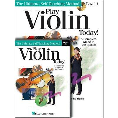 Hal Leonard Play Violin Today! Beginner's Pack - Includes -