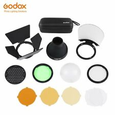 Godox AK-R1 Accessories Kit Honeycomb Snoot Diffuser and Filters For AD200 H200R