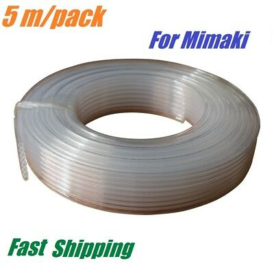 8-line Ink Tube Eco Solvent 2mm X 3mm For Mimaki Jv5 Jv33 5 Meters Pack