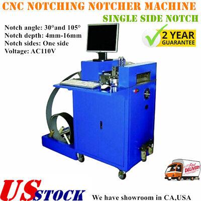 Cnc Notching Notcher Machine For Metal Channel Letter Single Side Notch