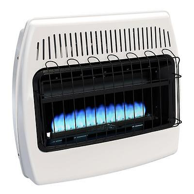 30000 Natural - Indoor Natural Gas Heater Wall Mounted Vent Free 30000 BTU Home blue flame