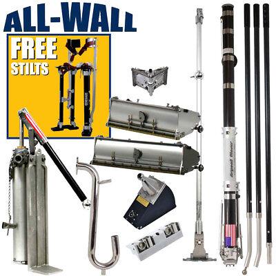 Drywall Master Full Set Taping Finishing Tools Free 199 Value 24- 40 Stilts