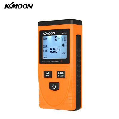 Kkmoon Digital Lcd Electromagnetic Radiation Detector Meter Tester Counter T5w1