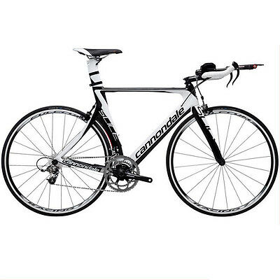 Cannondale Slice 4 Black and White  56 cm