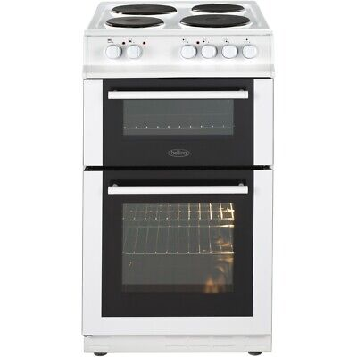 Belling FS50EFDO White Electric Cooker with Double Oven 444443923