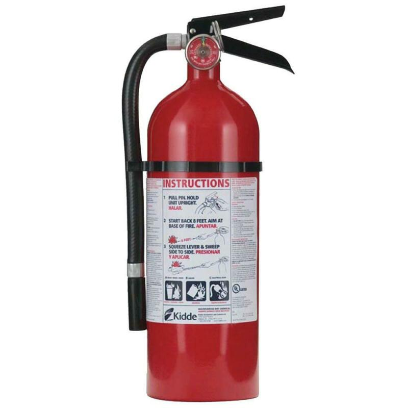Kidde 2A:10-BC Fire Extinguisher with Mounting Bracket Dry Chemical Residential
