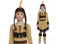 Kids Native American Indian Fancy Dress