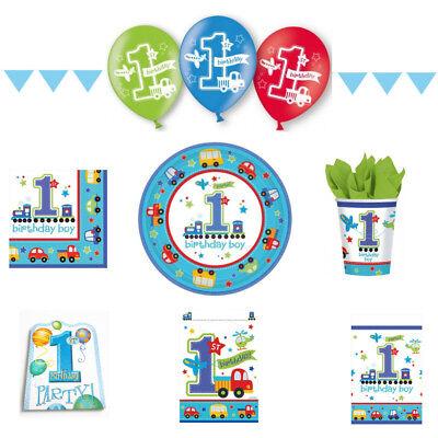 et XXL Junge Boy für 8 Kinder Kindergeburtstag (1. Geburtstag Party Für Junge)