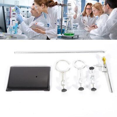 New 500mm Lab Stands Bracket Retort Support Platform Clamp Flask Fixing Stand