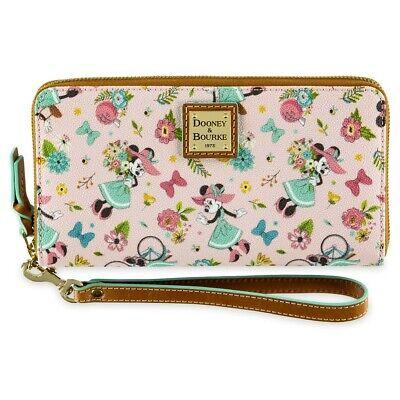 2020 Disney Epcot Flower & Garden Festival Dooney & Bourke Wristlet Wallet