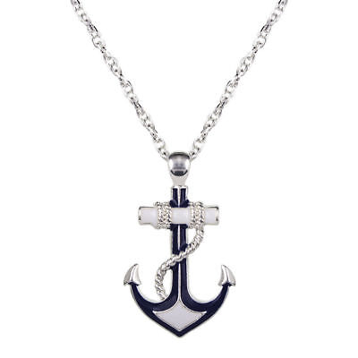 Nautical Anchor Pendant Necklace 20