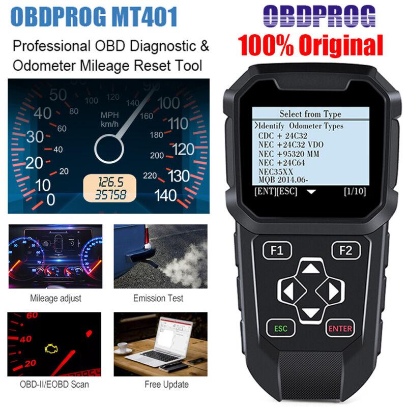 OBDPROG MT401 Odometer Correction Mileage Adjustment Auto OBD2 Diagnostic Tool
